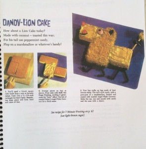 Dandy-Lion Cake